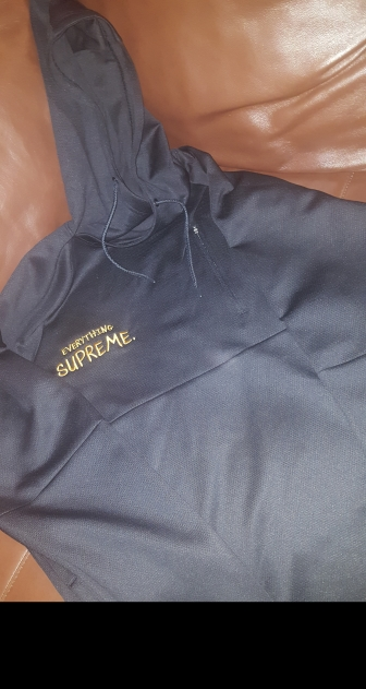 black drifit pullover